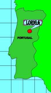loriga mapa Localização loriga mapa